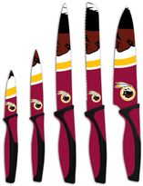 Washington Redskins 5-Piece Cutlery Knife Set