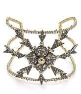 Alexis Bittar Pavé Snowflake Cuff Bracelet