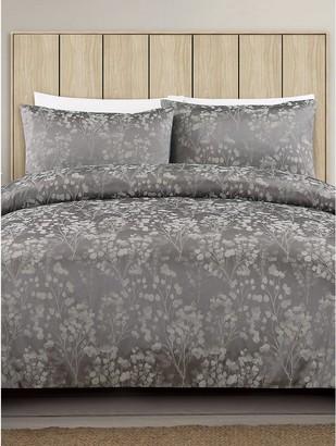 M&Co Floral Jacquard duvet set