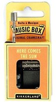 Kikkerland Here Comes the Sun Crank Music Box New