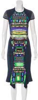 Peter Pilotto Digital Print Midi Dress
