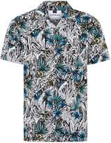 Topman Floral Revere Shirt