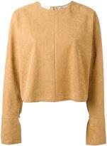 Stella McCartney Olivia long sleeved top - women - Polyamide - 40