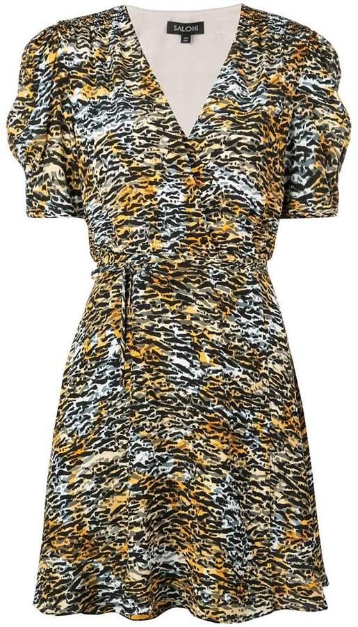 5585552e Tiger Print Dress - ShopStyle