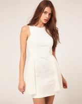 ASOS Mini Dress with Mesh Panels