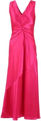 Pinko Twisted V-Neck Dress