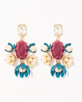 Charming charlie Blooming Cluster Earrings