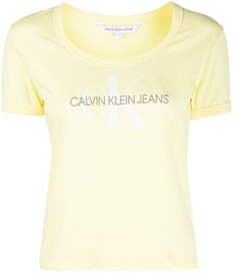 Calvin Klein Jeans logo-print short sleeved T-shirt