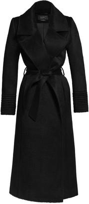 Sentaler Notched Collar Wrap Coat