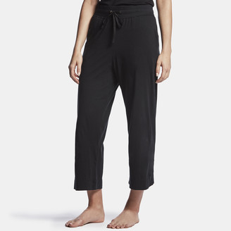 James Perse Luxe Lotus Jersey Cropped Pajama Pant