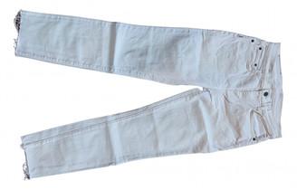 Proenza Schouler White Cotton Jeans