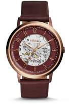 Fossil Vintage Muse Skeleton Dial Automatic Men's Watch ME3137