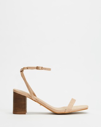 Billini - Women's Neutrals Strappy sandals - Yarrow - Size 5 at The Iconic