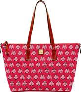 Dooney & Bourke Ohio State Buckeyes Zip Top Shopper