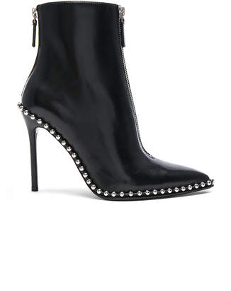 Alexander Wang Leather Eri Boots in Black Leather | FWRD