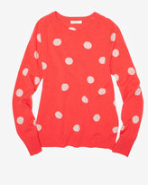 Equipment Sloane Classic Dot Cashmere Sweater