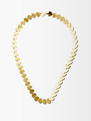 Irene Neuwirth 18kt Gold Heart-chain Necklace - Yellow Gold
