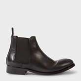 Paul Smith Women's Black Calf Leather 'Lydon' Chelsea Boots