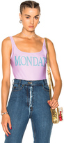 Alberta Ferretti Monday Swimsuit in Purple.