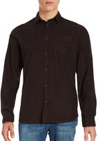 Selected Elliot Button Front Flannel Shirt
