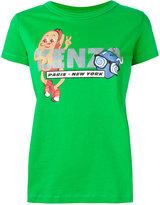 Kenzo glitter hotdog T-shirt - women - Cotton - XS