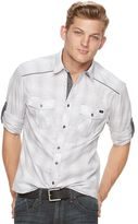 Rock & Republic Men's Plaid Button-Down Shirt