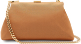 Mansur Gavriel Mini Volume faille clutch
