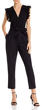 Rebecca Taylor Ruffle Trimmed Jumpsuit