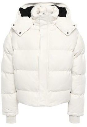 IRO Collyn Quilted Leather Hooded Coat