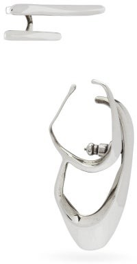 Alexander McQueen Set Of Two Right Ear Cuffs - Silver