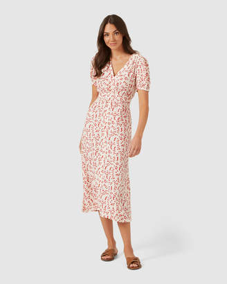 French Connection Floral Midi Dress