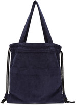 Phoebe English Navy Convertible Canvas Tote