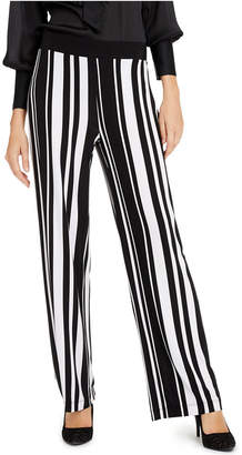 INC International Concepts Inc Petite Striped Wide-Leg Pants