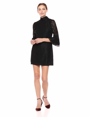 Ali & Jay Women's Swept Away Bell Sleeve Lace Shift Dress