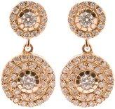 Ileana Makri double 'Solitaire' diamond earrings