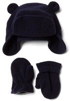 Gap Pro Fleece bear hat and mittens