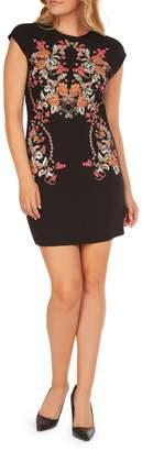 Dex Embroidered Mini Dress