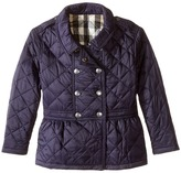 Burberry Portree Quilted Coat Girl's Coat