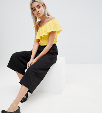 Vero Moda Petite Frill One Shoulder Top
