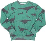 Madson Discount Dinosaur Printed Blend Cotton Sweatshirt