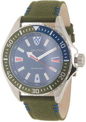 Nautica Men's Crandon Park Watch, 46mm
