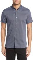 Ted Baker Men's Gigshor Short Sleeve Sport Shirt