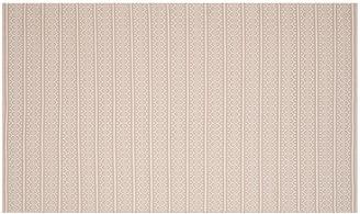 """One Kings Lane Tauk Flat-Weave Rug - Ivory/Gray - 2'3""""x8'"""