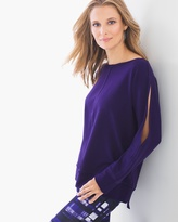 Chico's Relaxed Cold-Shoulder Top