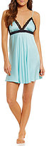 Kate Spade Charmeuse & Lace Chemise