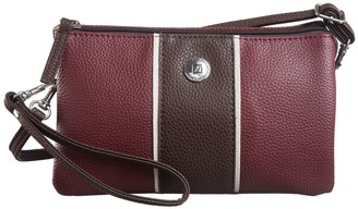 Stone Mountain Pebble Leather Phone Charging Crossbody