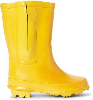Stella McCartney Toddler/Kids) Yellow Zip Rain Boots