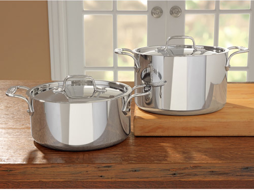 All-Clad Tri-Ply Stainless Steel Covered Casserole
