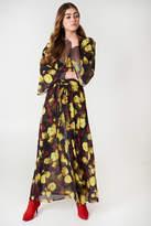 Na Kd Boho Chiffon Coat Dress