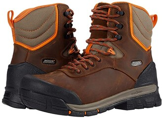 Bogs Bedrock 8 Insulated Soft Toe Boot (Brown Multi) Men's Shoes